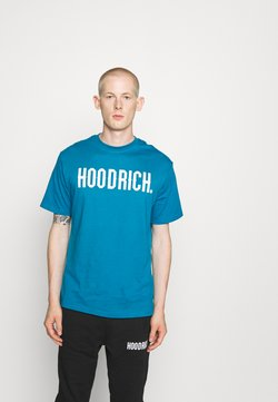 Hoodrich - CORE - T-shirt print - blue