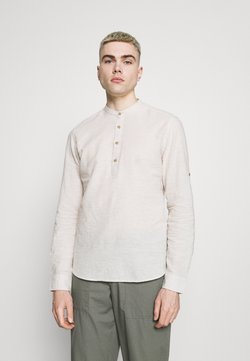 Only & Sons - ONSCAIDEN HALF PLACKET - Camicia - pelican