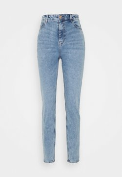 PIECES Tall - Straight leg -farkut - light blue denim