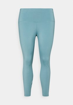 Nike Performance - THE YOGA 7/8 PLUS - Tights - cerulean/light armory blue
