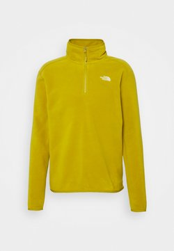 The North Face - MENS GLACIER 1/4 ZIP - Fleecepullover - matcha green