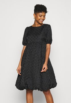 YAS - YASKYL MIDI DRESS SHOW - Cocktail dress / Party dress - black