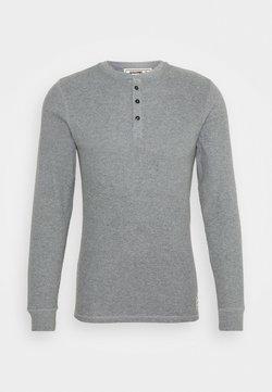 Jack & Jones - JACHENRIK HENLEY - Nachtwäsche Shirt - grey melange