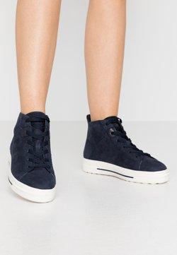 Tamaris - Sneakers hoog - navy