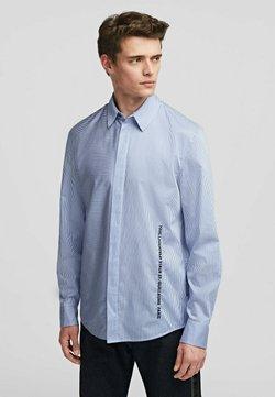 KARL LAGERFELD - Hemd - white/blue stripes