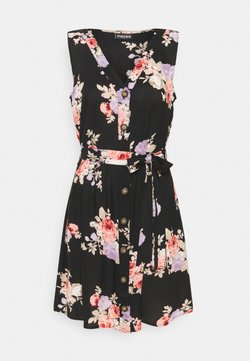PIECES Tall - PCNISU DRESS  - Vapaa-ajan mekko - black
