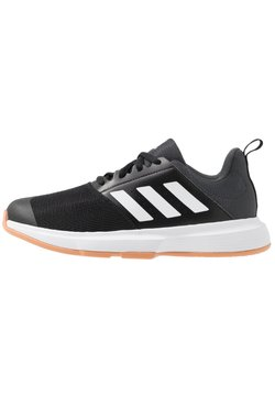 adidas Performance - ESSENCE - Chaussures de handball - core black/footwear white/grey six