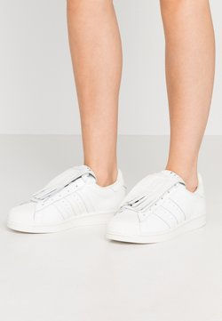 adidas Originals - SUPERSTAR  - Sneakers laag - footwear white/offwhite/gold metallic