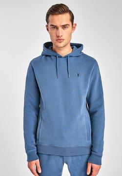 Next - Bluza z kapturem - mottled turquoise
