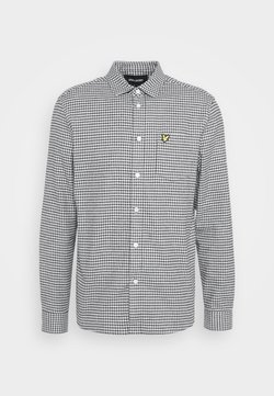Lyle & Scott - BRUSHED CHECK - Camicia - mid grey marl