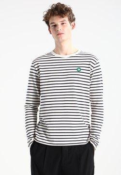 Wood Wood - MEL - Maglietta a manica lunga - off-white/navy stripes