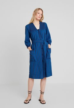 Noa Noa - STRIPE MIX - Blusenkleid - art blue
