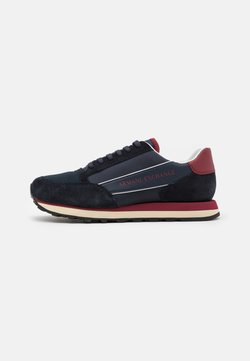 Armani Exchange - OSAKA  - Sneaker low - navy/red