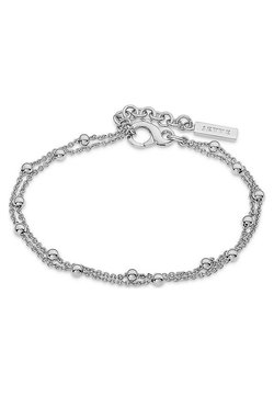 JETTE - JETTE SILVER DAMEN-ARMBAND LUCKY CHARM 925ER SILBER - Armband - silver-coloured
