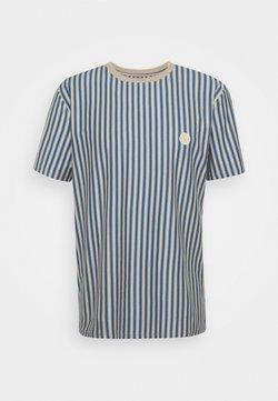 Woodbird - JABI MILK STRIPE TEE - T-Shirt print - ecru