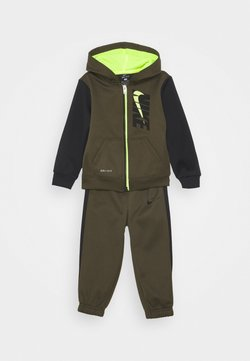 Nike Sportswear - COLORBLOCK THERMA SET - Veste de survêtement - cargo khaki