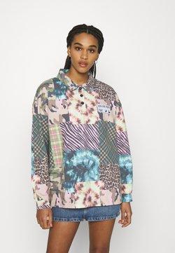 NEW girl ORDER - ANIMAL TIE DYE MIXED PRINT - Sweatshirt - multi