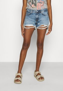 Pepe Jeans - THRASHER DESTROY - Jeans Shorts - denim