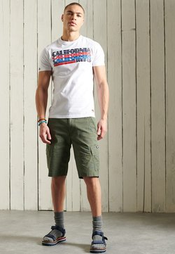 Superdry - CALI SURF GRAPHIC - T-Shirt print - optic
