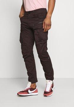G-Star - ROVIC ZIP TAPERED - Pantalones cargo - deep brown