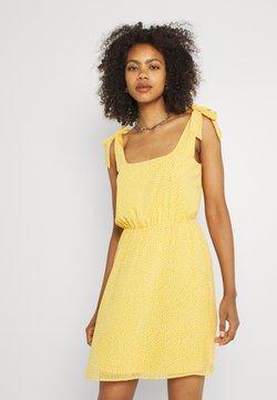 Even&Odd - Freizeitkleid - yellow/white