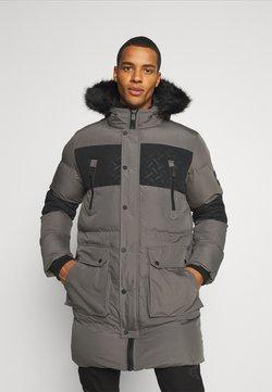 PARELLEX - LUNAR LONGLINE JACKET - Winter coat - grey