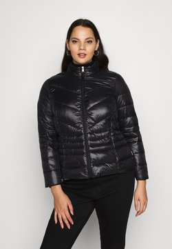 Vero Moda Curve - VMSORAYASIV SHORT JACKET CURVE - Light jacket - black