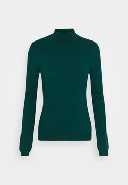 Anna Field - BASIC- TURTLE NECK - Strickpullover - deep teal