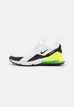 Nike Golf - AIR MAX 270 G - Golfschuh - white/black/volt/barely volt