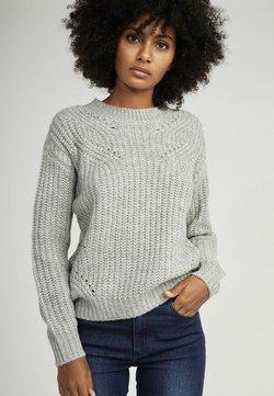 NAF NAF - SUZANNE  - Sweter - grey