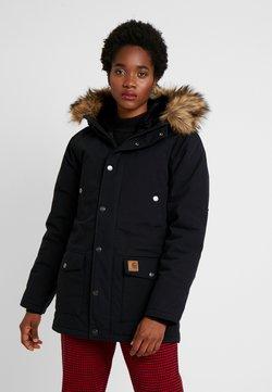 Carhartt WIP - TRAPPER - Wintermantel - black