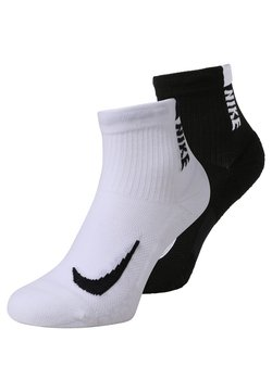 Nike Performance - ANKLE UNISEX 2 PACK - Sportsocken - white/black
