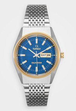 Timex - Q EYE REISSUE - Rannekello - silver-coloured/blue