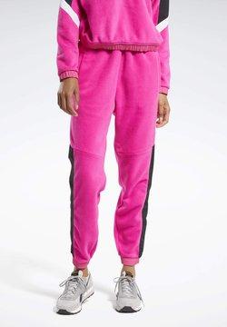 Reebok - MYT WARM-UP JOGGERS - Jogginghose - pink