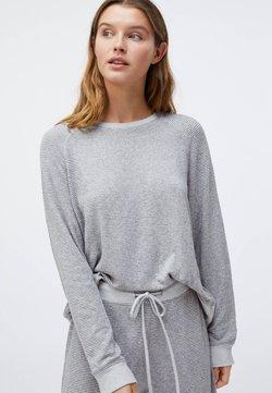 OYSHO - Haut de pyjama - light grey
