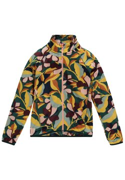 O'Neill - PRINTED FULL ZIP - Veste polaire - green aop w/ pink or purple