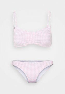 Cotton On Body - GATHERED FRONT TOP GATHERED BUM BRAZILIAN - Bikini - primrose