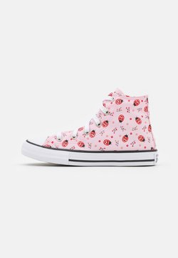 Converse - CHUCK TAYLOR ALL STAR UNISEX - Korkeavartiset tennarit - pink foam/white/black