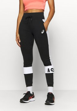 ASICS - COLORBLOCK PANT - Verryttelyhousut - performance black