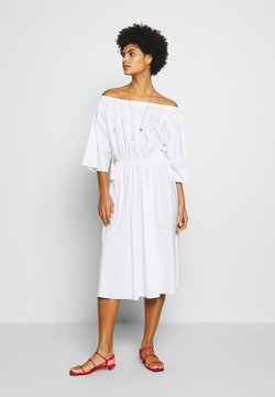 Patrizia Pepe - ABITO/DRESS - Day dress - white