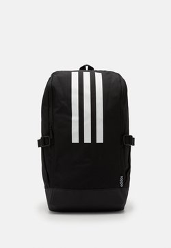 adidas Performance - ESSENTIALS 3 STRIPES SPORTS BACKPACK UNISEX - Reppu - black/black/white