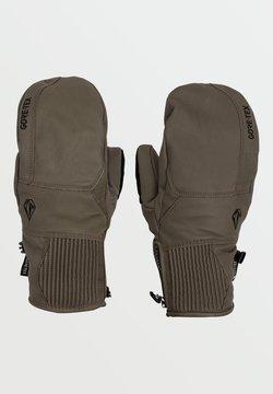 Volcom - SERVICE GORE-TEX MITT - Fingerhandschuh - dark_teak