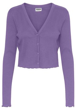 Noisy May - NMDRAKEY CROPPED CARDIGAN - Gilet - amethyst orchid