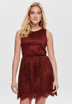 ONLY - ONLEDITH DRESS - Vestito elegante - red