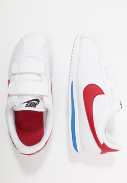 Nike Sportswear - CORTEZ BASIC - Baskets basses - white/varsity royal/black/varsity red