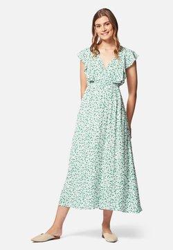 Mavi - Freizeitkleid - white green petal print