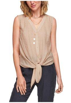 s.Oliver BLACK LABEL - Bluse - light beige stripes