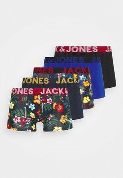 Jack & Jones - JACPRINTED TRUNKS 5 PACK - Panties - surf the web/black /navy blazer