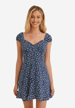 NA-KD - Robe d'été - blue flower