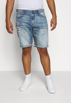 Jack´s Sportswear - Jeansshort - light blue